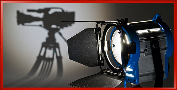 ENG Video Camera and Arri 1K Light