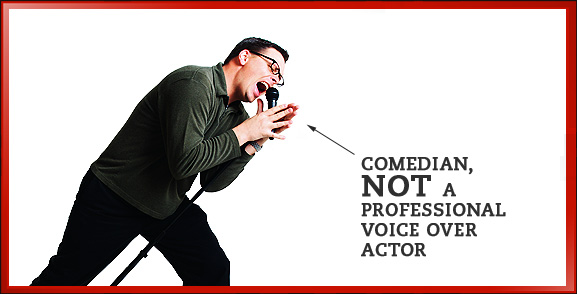 Not a Professional Voice Actor