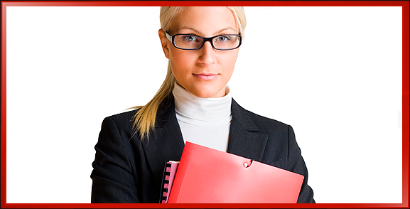 Video Marketer Professional Business Woman