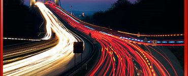 Time-lapse Photograph Traffic