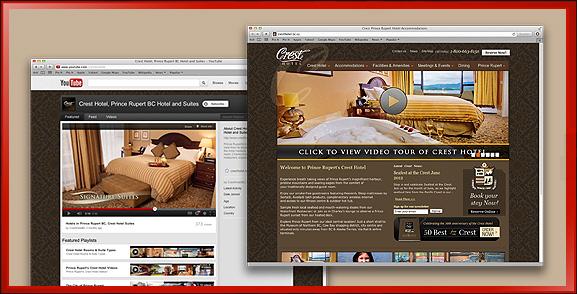 Crest Hotel Embedded Videos