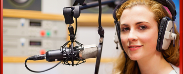 Voice Over or No Voice Over, Smiling Woman