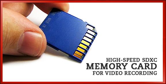 SDHC SDXC Memory Card
