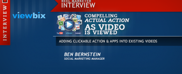 Compelling Actual Action as Video is Viewed, Viewbix