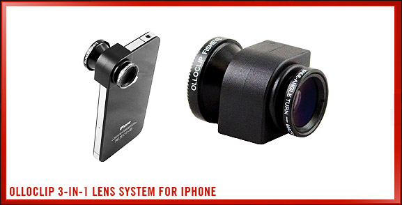 olloclip 3-in-1 Lens System for iPhone