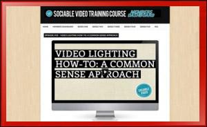 Video Lighting How To Training