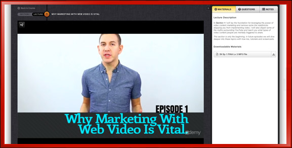 Why Web Video Marketing is Vital