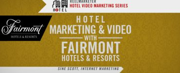 Hotel Marketing and Video with Fairmont Hotels and Resorts, Sine Scott