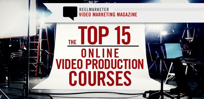 Top 15 Online Video Production Courses