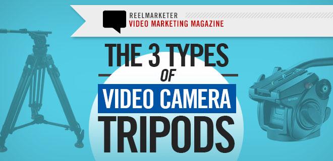 Tripod Basics: 3 Types of Video Camera Tripods