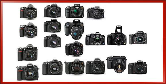 set_DSLR_cameras