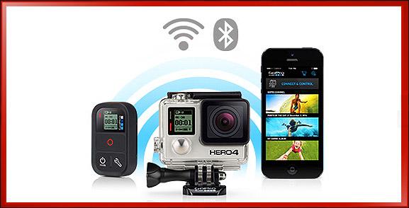 GoPro Camera Wireless Connectivity