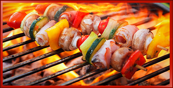 Food on Grill, Chef