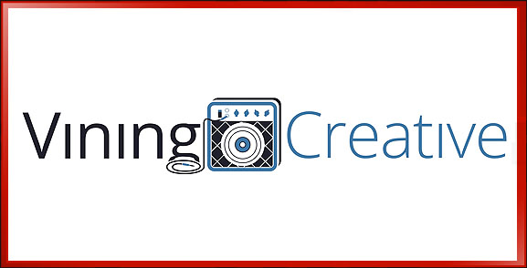 Vining Creative Logo, Audio Production