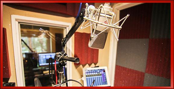 Sound Studio, High End Microphone