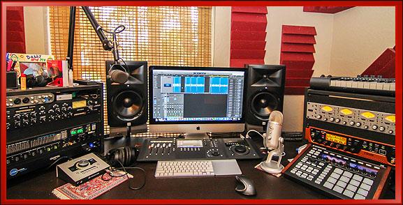 Professional Voice Over Recording Studio Setup