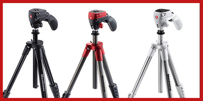 Manfrotto Compact Tripods
