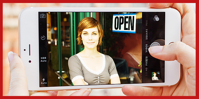 Woman iPhone Video Promotional Video Recording