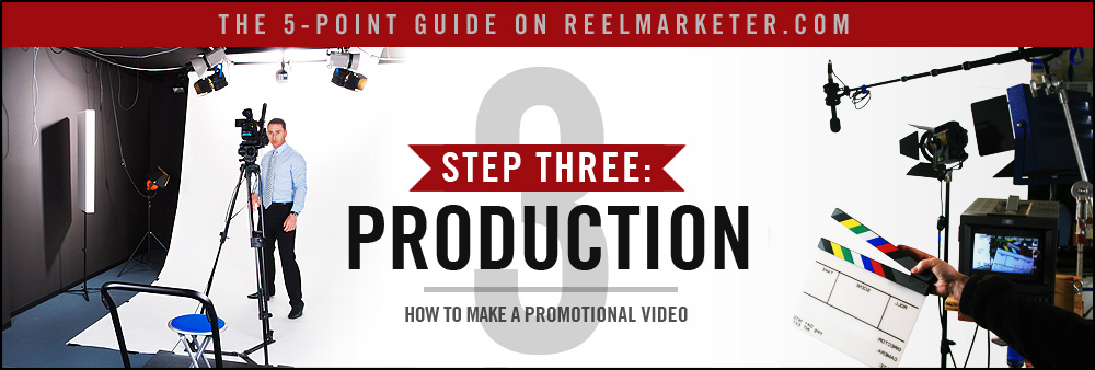 Step 3 - Production: Filming your Promotional Video and Supporting Audio and Visuals