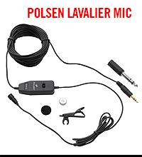 Polsen Lavalier Microphone
