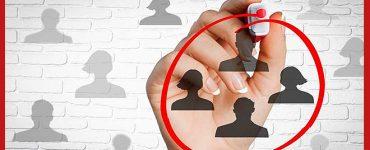 People Selected as a Target Audience, Online