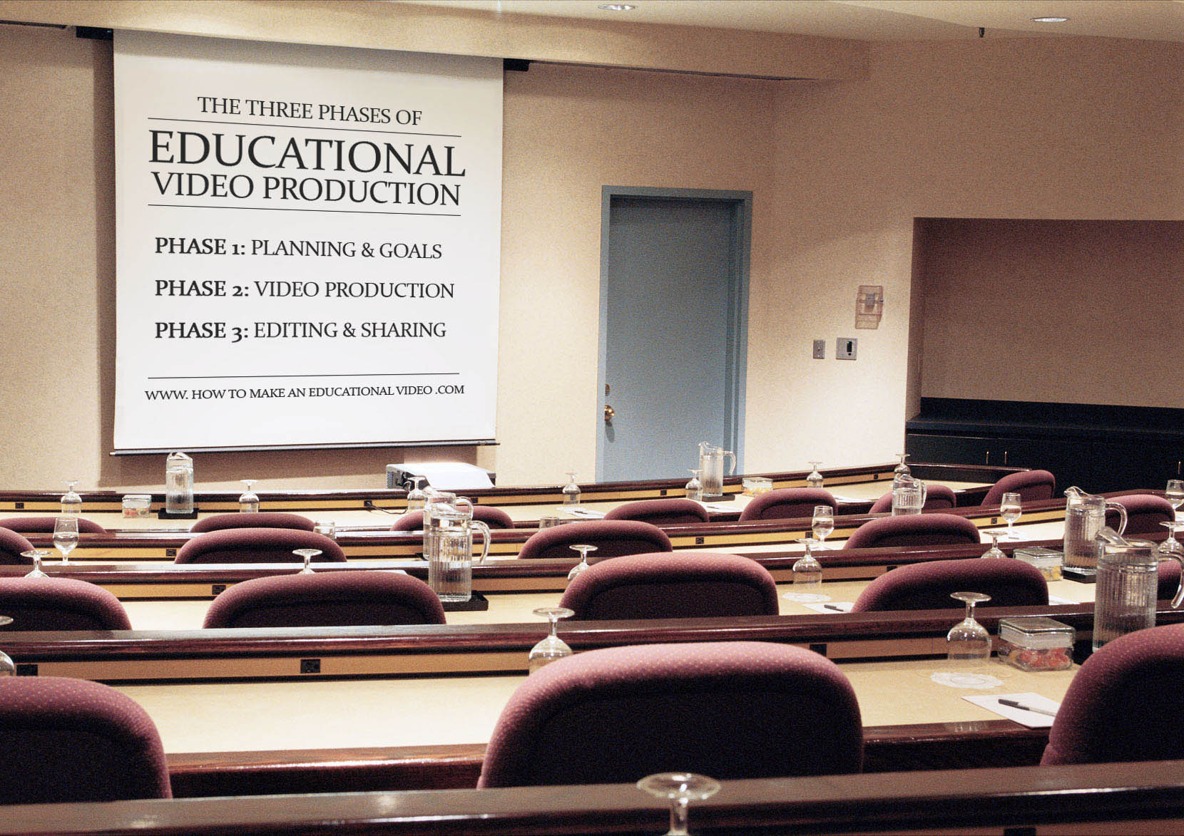 The Three Phases of Educational Video Production