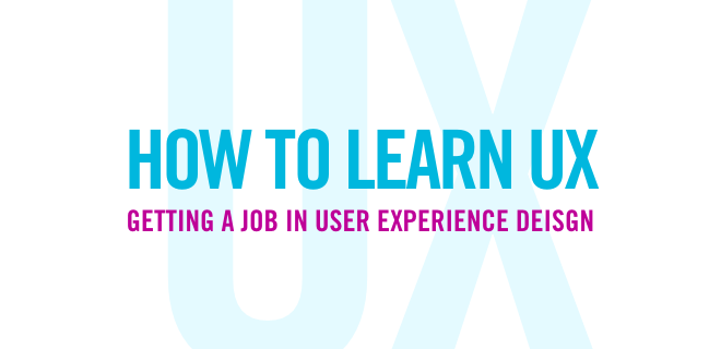 How To Learn UX